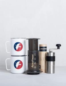 15 Useful Gifts for Coffee Lovers Who Travel: La Colombe Camp Brew Kit, Perfect for Making Coffee while Camping