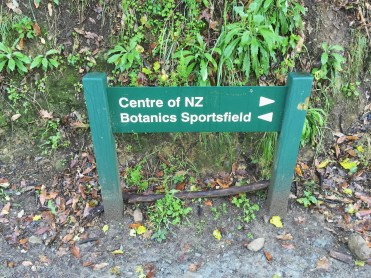 Walking up to The Centre of New Zealand