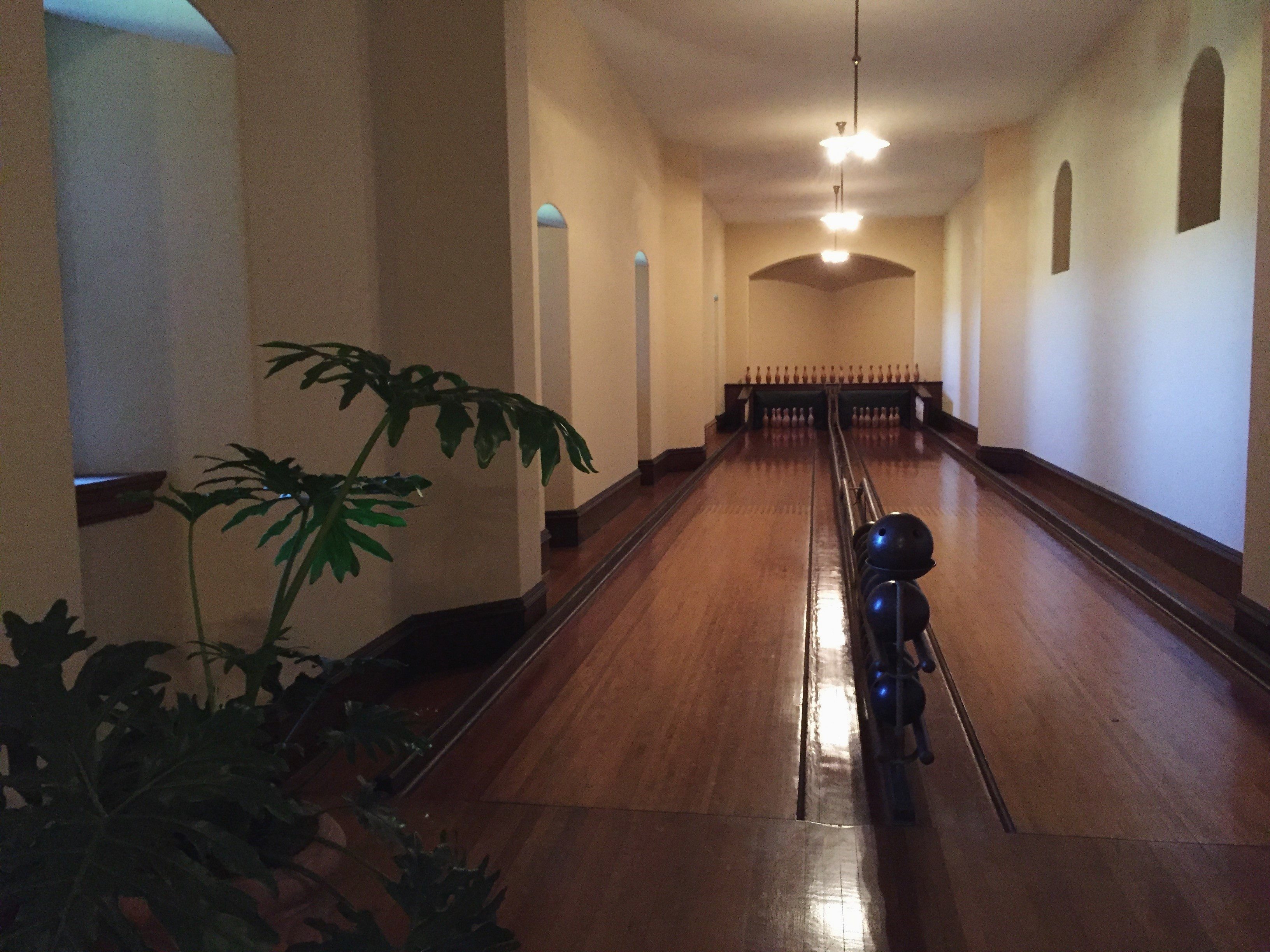 The Biltmore Estate - Biltmore House Bowling Alley