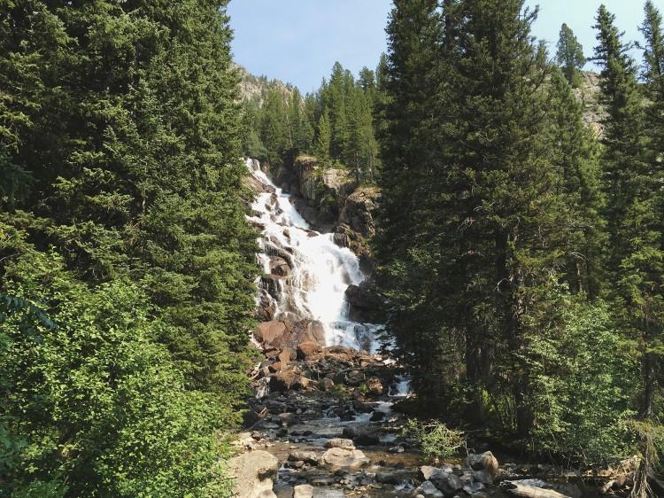 grand teton national park waterfall