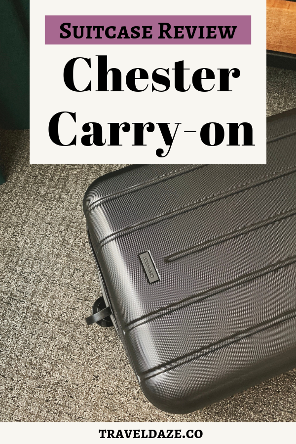 Best Carry-on Suitcase: Chester Minima Carry-on Review