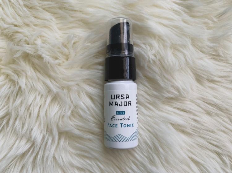 small bottle of Ursa Major face tonic