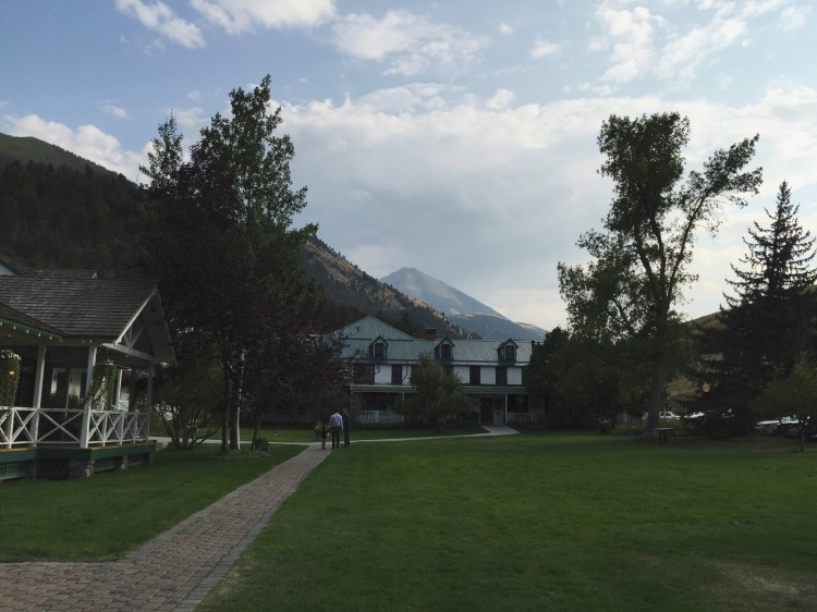 Chico Hot Springs is a tranquil resort in Pray, Montana, just north of Yellowstone National Park. It's a beautiful place to spend a relaxing weekend.