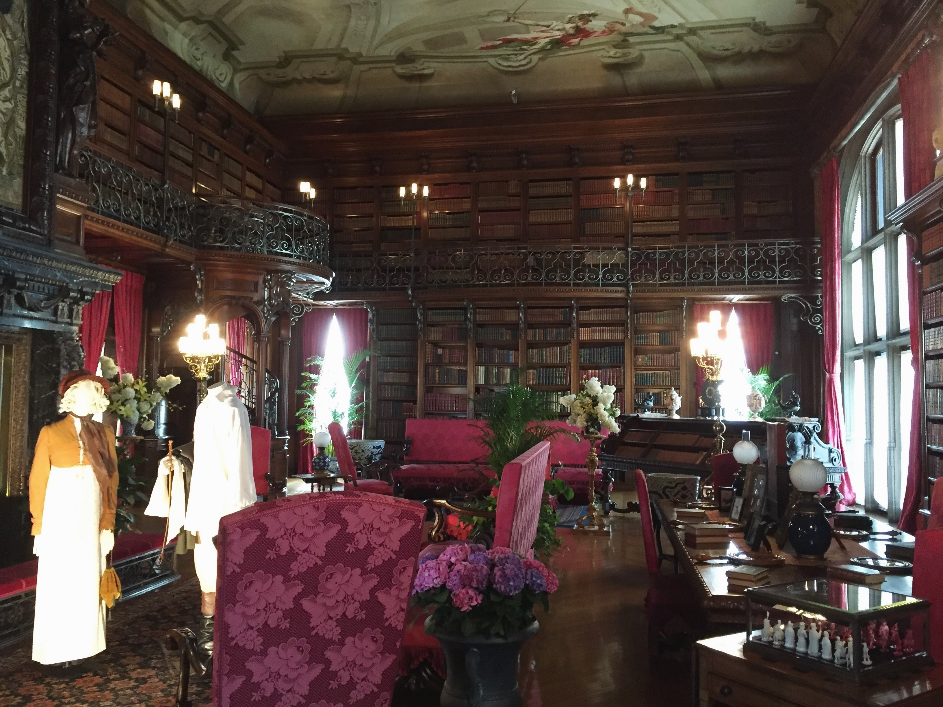 The Biltmore Estate - Biltmore House Library