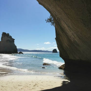 Cathedral Cove is one of the top attractions in New Zealand, and for good reason. The idyllic white sand beach and beautiful rock formations are only accessible by foot or by water.