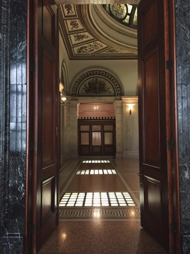 doorway in historic building