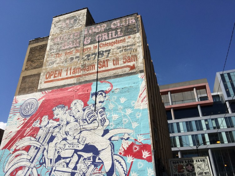 street art on a building