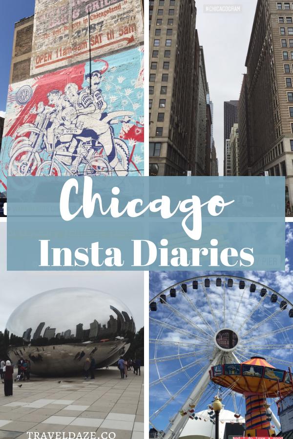 1 Week in Chicago Instagram Diaries: See how I spent 1 week in Chicago via Instagram Stories travel diary #chicago #instagram #travel #photodiary
