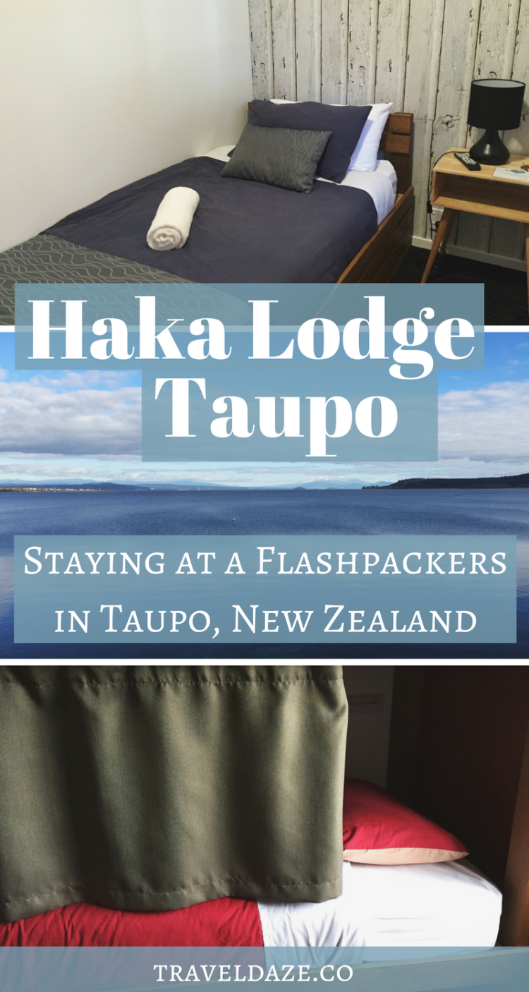 """What it's like to stay at a """"flashpackers"""" hostel at Haka Lodge Taupo in Taupo, New Zealand"""