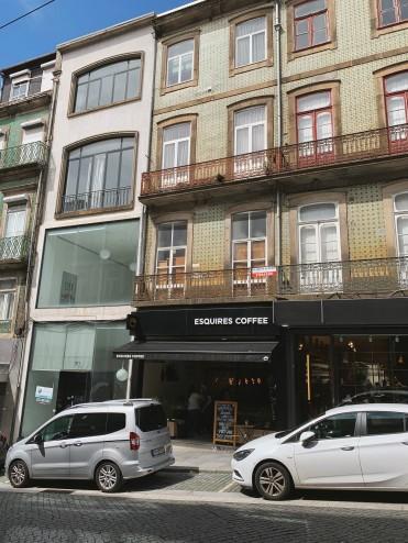 cafe storefront in Porto