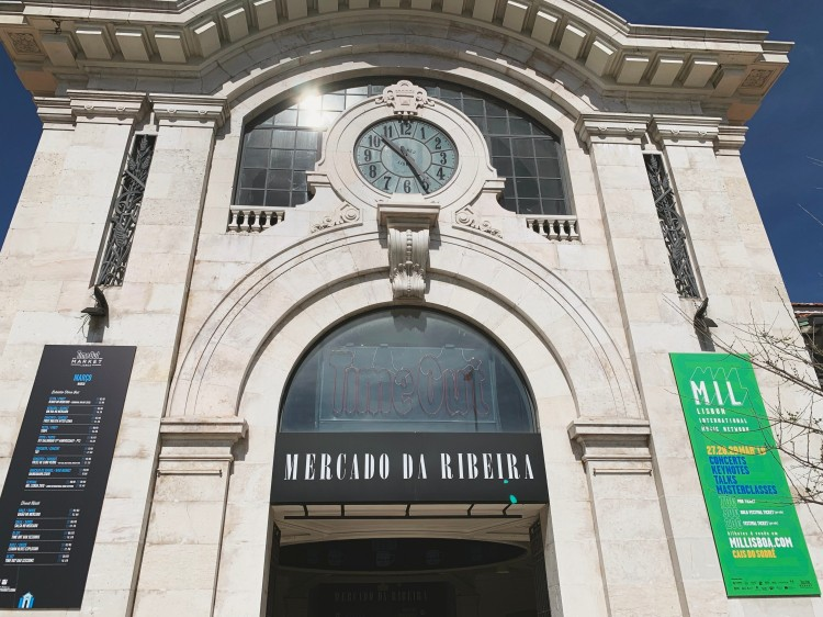 Mercado da Ribeira Lisboa