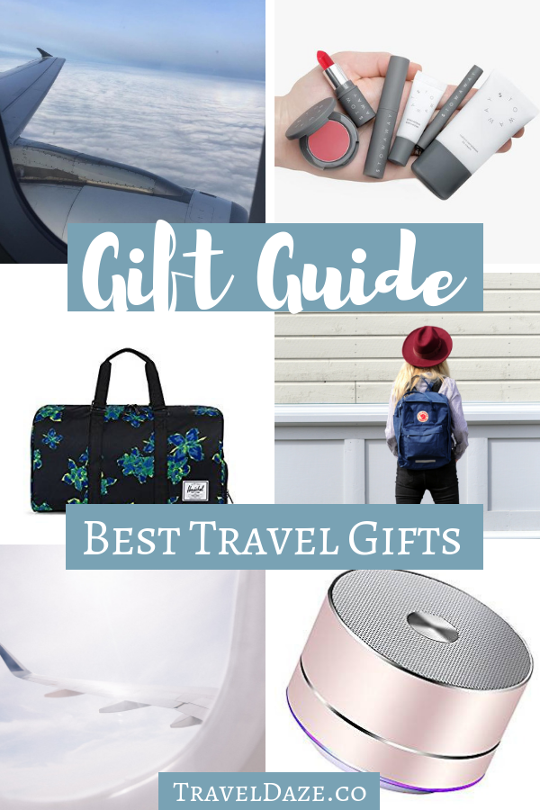 Travel Gift Guide: The Best Travel Gifts for every traveler. #traveldaze #giftguide #travelgifts