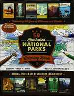 National Park Gift Guide: National Parks Coloring Book