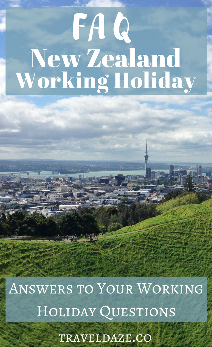 New Zealand Working Holiday FAQ: Answering All of Your New Zealand Working Holiday Questions