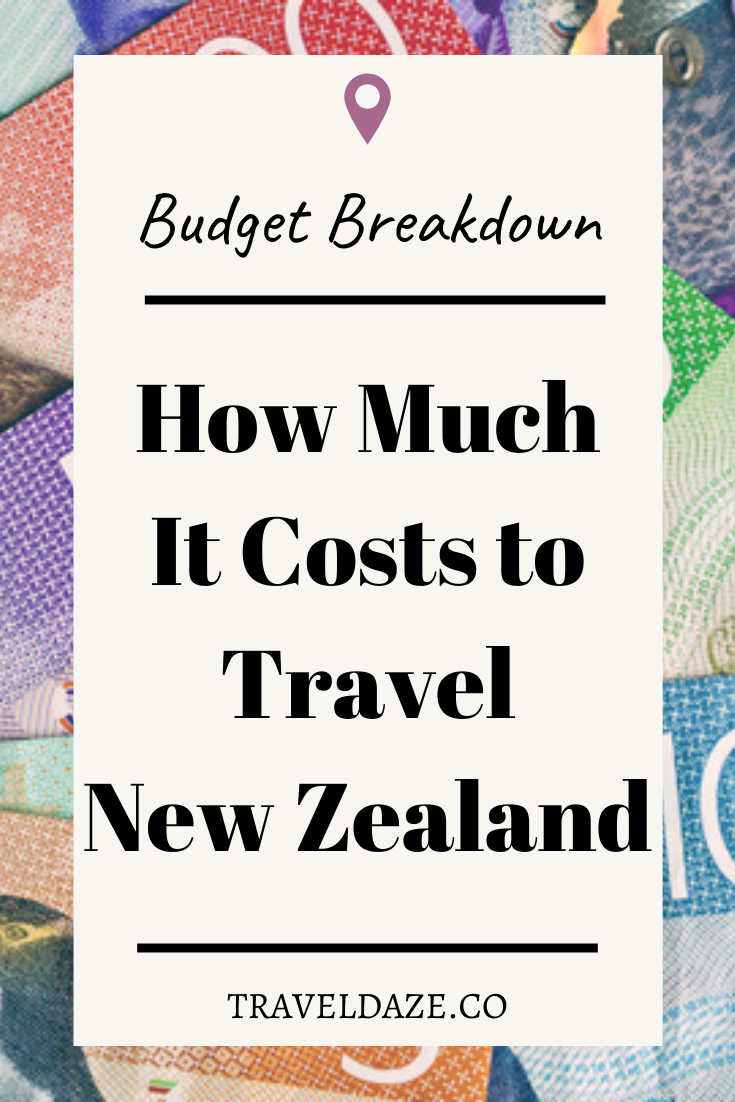 How Much it Costs to Travel New Zealand