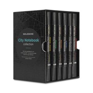 box set of city notebooks