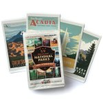 National Parks Gift Guide: National Parks Illisutrated Sticker Set