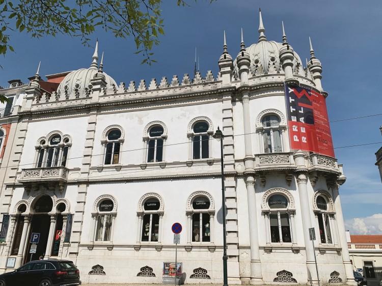 exterior of Embaixada Lisbon
