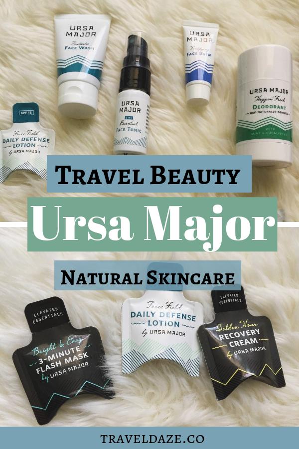 Travel Beauty: Ursa Major Natural Skincare