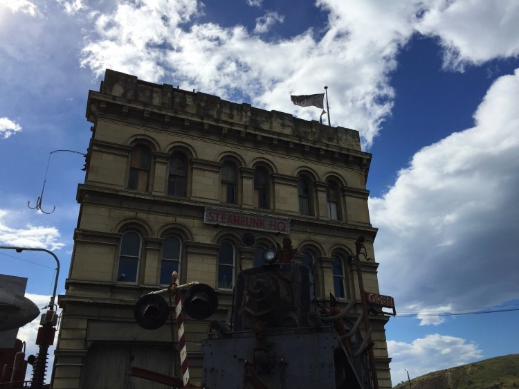 Steampunk HQ is a gallery & museum in Oamaru, New Zealand. It's dedicated to the steampunk style, which is inspired by Victorian era technology.